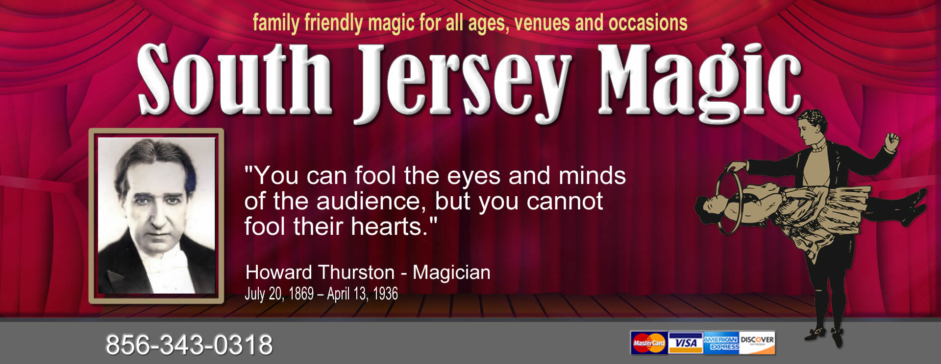 south jersey magic jim combs magician
