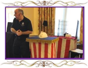 bunny circus south jersey magic jim combs magician